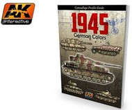 AK Interactive   N/A 1945 German Colors Camouflage Profile Guide Book AKI403