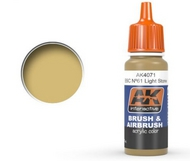 AK Interactive  AK Acrylic Khaki Drab Acrylic Paint 17ml Bottle AKI4071