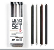 Lead Weathering Hard Pencil Set (4) #AKI4188