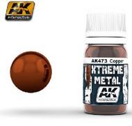 AK Interactive  AK Xtreme Xtreme Metal Copper Metallic Paint 30ml Bottle AKI473