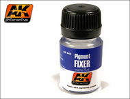 AK Interactive  AK Enamel Pigment Fixer Enamel 35ml Bottle AKI48