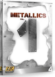 AK Interactive   N/A Metallics Vol.1 Learning Series Book AKI507
