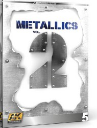 AK Interactive   N/A Metallics Vol.2 Learning Series Book AKI508