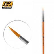 AK Interactive   N/A Size 2 Synthetic Round Brush AKI604