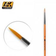 AK Interactive   N/A Size 4 Synthetic Round Brush AKI605