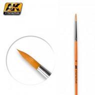 AK Interactive   N/A Size 6 Synthetic Round Brush AKI606