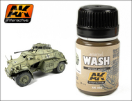 AK Interactive  Washes DAK Vehicle Wash Enamel Paint 35ml Bottle AKI66