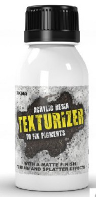 AK Interactive  Pigments Texturizer Acrylic Resin for Pigments 100ml Bottle AKI665