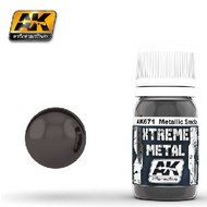 AK Interactive  AK Xtreme Xtreme Metal Smoke Metallic Paint 30ml Bottle AKI671