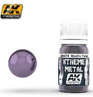 AK Interactive  AK Xtreme Xtreme Metal Purple Metallic Paint 30ml Bottle AKI674