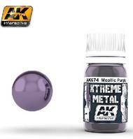 AK Interactive  AK Xtreme Xtreme Metal Purple Metallic Paint 30ml Bottle AKI674