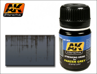 AK Interactive  AK Grime Panzer Grey Streaking Grime Enamel Paint 35ml Bottle AKI69
