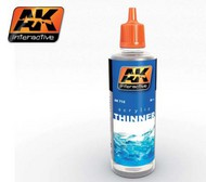 AK Interactive  Thinner Acrylic Thinner 60ml Bottle AKI712
