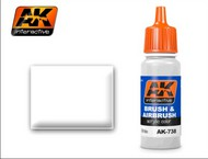 AK Interactive  AK Acrylic White Acrylic Paint 17ml Bottle AKI738