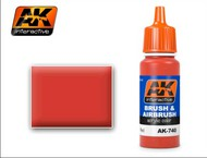 AK Interactive  AK Acrylic Red Acrylic Paint 17ml Bottle AKI740