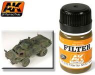 AK Interactive  AK Enamel NATO Tank Filter Enamel Paint 35ml Bottle AKI76