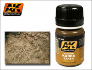 AK Interactive  Washes Summer Kursks Earth Ochre Wash Enamel Paint 35ml Bottle AKI80