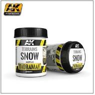 AK Interactive  AK Diorama Series Diorama Series: Terrains Snow Texture Acrylic 250ml Bottle AKI8011
