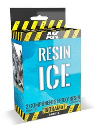 Diorama Series: Resin Ice Effect 2-Components Epoxy 180ml #AKI8012