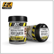 AK Interactive  AK Diorama Series Diorama Series: Terrains Neutral Texture for Earth Acrylic 250ml Bottle AKI8023