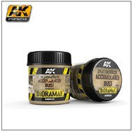 AK Interactive  AK Diorama Series Diorama Series: Splatter Effects Accumulated Dust Acrylic 100ml Bottle AKI8031