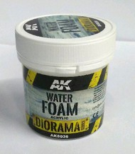 AK Interactive  AK Diorama Series Diorama Series: Water Foam Acrylic 100ml Bottle AKI8036