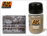 AK Interactive  AK Grime Engine Grime Enamel Paint 35ml Bottle AKI82