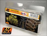 AK Interactive  AK Enamel Engines & Metal Enamel Paint Set (82, 83, 84, 85, 86) AKI87