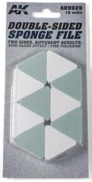 AK Interactive  AK Acrylic Double-Sided Sponge File Semi-Gloss & Polish Effect AKI9029