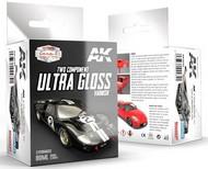 AK Interactive  AK Acrylic Car & Civil Vehicles Series: Two-Part Component Ultra Gloss Varnish 80ml AKI9040