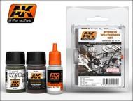 AK Interactive  AK Enamel Interior Weathering Acrylic/Enamel Paint Set (92, 93, 94) AKI91