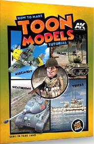 AK Interactive   N/A How to Make Toon Models Tutorial Book AKI911