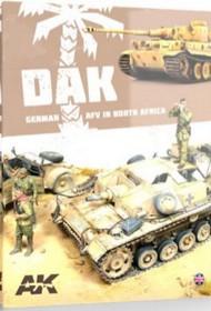 DAK, German AFV in North Africa Book (Semi-Hardback) #AKI912