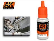 AK Interactive  AK Acrylic RAL 9001 Cream/White Acrylic Paint 17ml Bottle AKI92