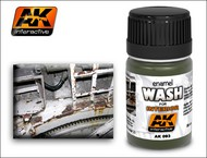AK Interactive  Washes Interior Wash Enamel Paint 35ml Bottle AKI93