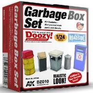 AK Interactive  1/24 Doozy Series: Garbage Cans Set (5) (Resin) AKIDZ10