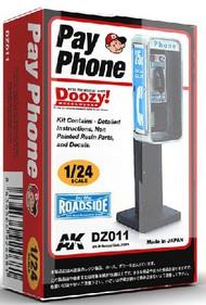 AK Interactive  1/24 Doozy Series: Pay Phone (Resin) AKIDZ11