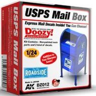 AK Interactive  1/24 Doozy Series: USPS Mail Box (Resin) AKIDZ12