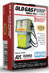 AK Interactive  1/24 Doozy Series: Regular Old Gas Pump w/Single Hose (Resin) AKIDZ2
