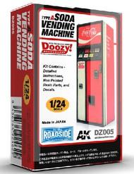 AK Interactive  1/24 Doozy Series: Coca-Cola Soda Vending Machine (Resin) AKIDZ5