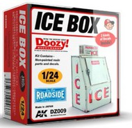 AK Interactive  1/24 Doozy Series: Ice Box Commercial Version (Resin) AKIDZ9