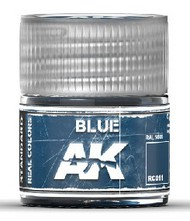 AK Interactive  AK Real Colors Real Colors: Blue Acrylic Lacquer Paint 10ml Bottle AKIRC11