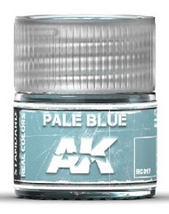 AK Interactive  AK Real Colors Real Colors: Pale Blue Acrylic Lacquer Paint 10ml Bottle AKIRC17