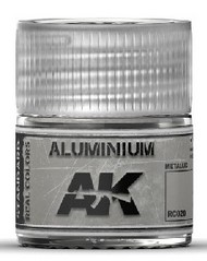 AK Interactive  AK Real Colors Real Colors: Aluminum Acrylic Lacquer Paint 10ml Bottle AKIRC20