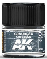 AK Interactive  AK Real Colors Real Colors: Grey Blue RAL5008 Acrylic Lacquer Paint 10ml Bottle AKIRC208