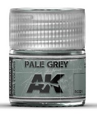 AK Interactive  AK Real Colors Real Colors: Pale Grey Acrylic Lacquer Paint 10ml Bottle AKIRC21