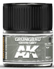 AK Interactive  AK Real Colors Real Colors: Green Grey RAL7009 (Modern) Acrylic Lacquer Paint 10ml Bottle AKIRC211