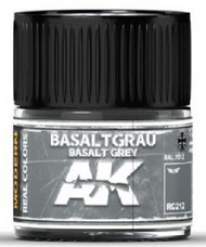 AK Interactive  AK Real Colors Real Colors: Basalt Grey RAL7012 Acrylic Lacquer Paint 10ml Bottle AKIRC212