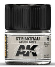 AK Interactive  AK Real Colors Real Colors: Stone Grey RAL7030 Acrylic Lacquer Paint 10ml Bottle AKIRC213