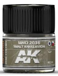 AK Interactive  AK Real Colors Real Colors: MNO 2036 Smalt Khaki Avion Acrylic Lacquer Paint 10ml Bottle AKIRC219